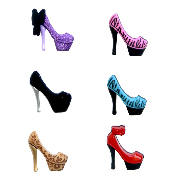 New Arrival High Heels Wine Glass Charms Drink Markers Novelty Glass Markers Set Of 6
