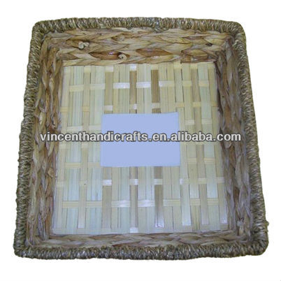 various kinds of baskets,weave tray,Square collection bamboo basket