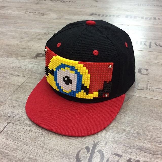 2018 new Hot selling cool Minions cute Basketball Baseball snapback Caps  sports hiphop children kids hats 39851483fe47