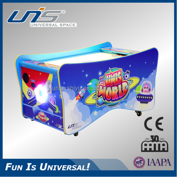 UNIS Indoor kids game machine 2 players air hockey table game for sale,  View air hockey table, UNIS Product Details from Guangdong Unis Technology