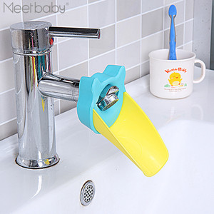 Hot selling safety baby products wholesale plastic bathroom accessories faucet extender