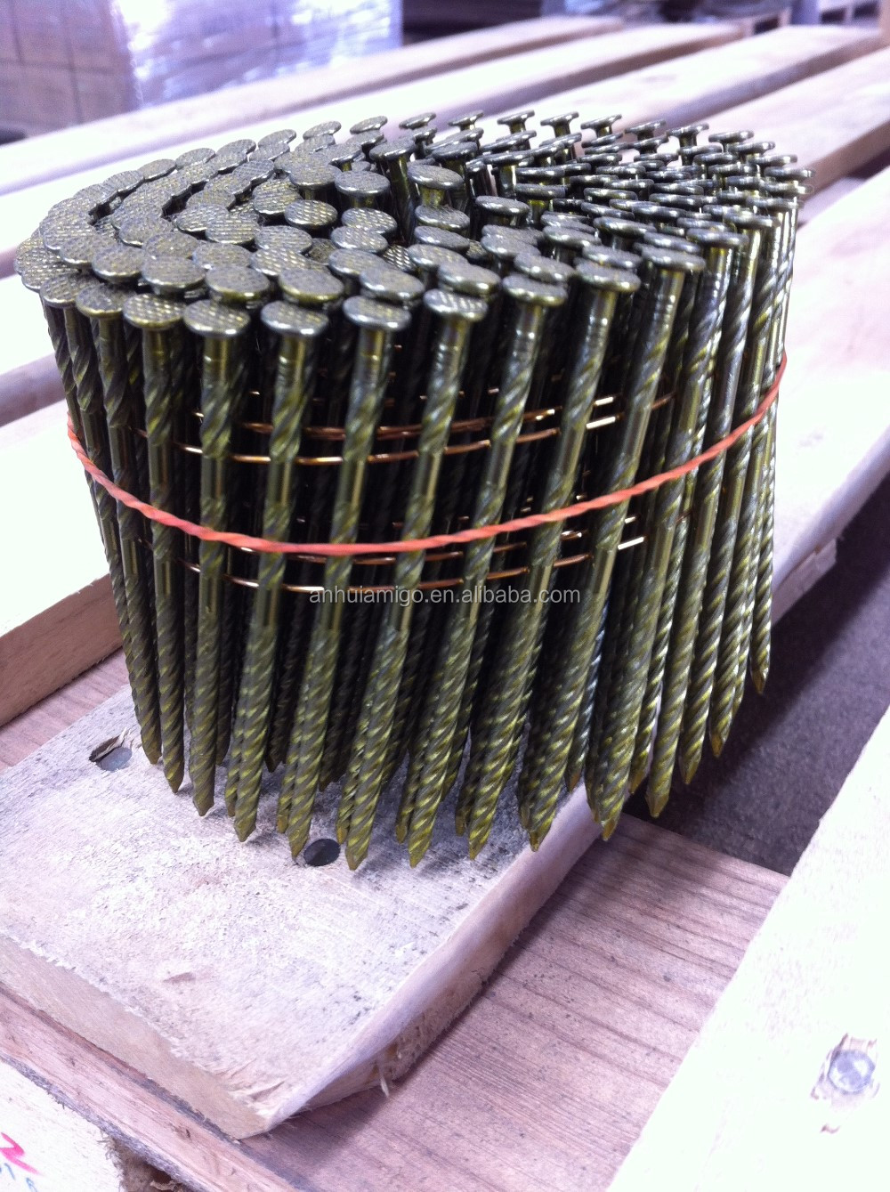 wood pallet steel coil nails/loose nails
