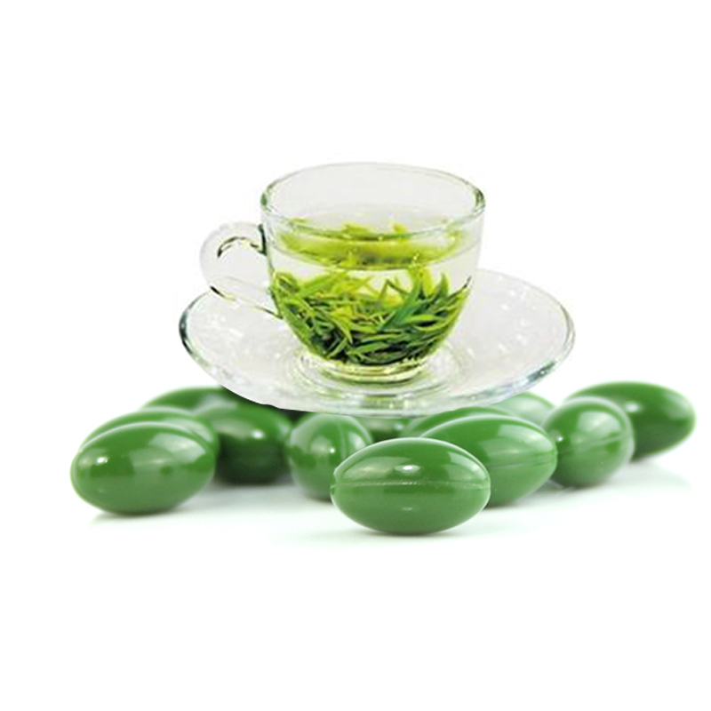 Beauty Product High quality Benefits Slimming Natural Green tea softgel capsule
