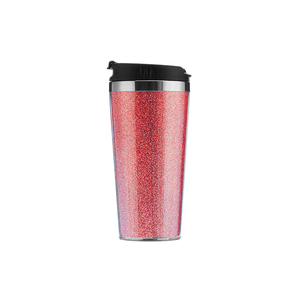Personalized 16oz cup travel mug tumbler stainless steel with lids