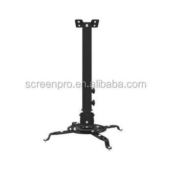 SAMS BLACK White Universal Projector Ceiling Mount Bracket Fits Flat