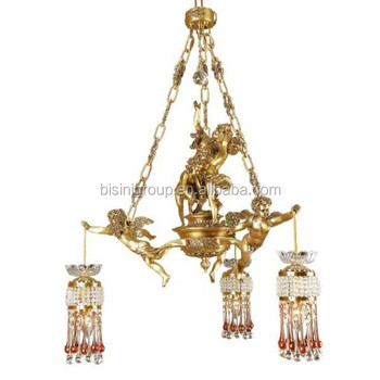 Classic italian golden winged angel chandelierantique angel ceiling classic italian golden winged angel chandelier antique angel ceiling pendant lamp made of brass and aloadofball Images