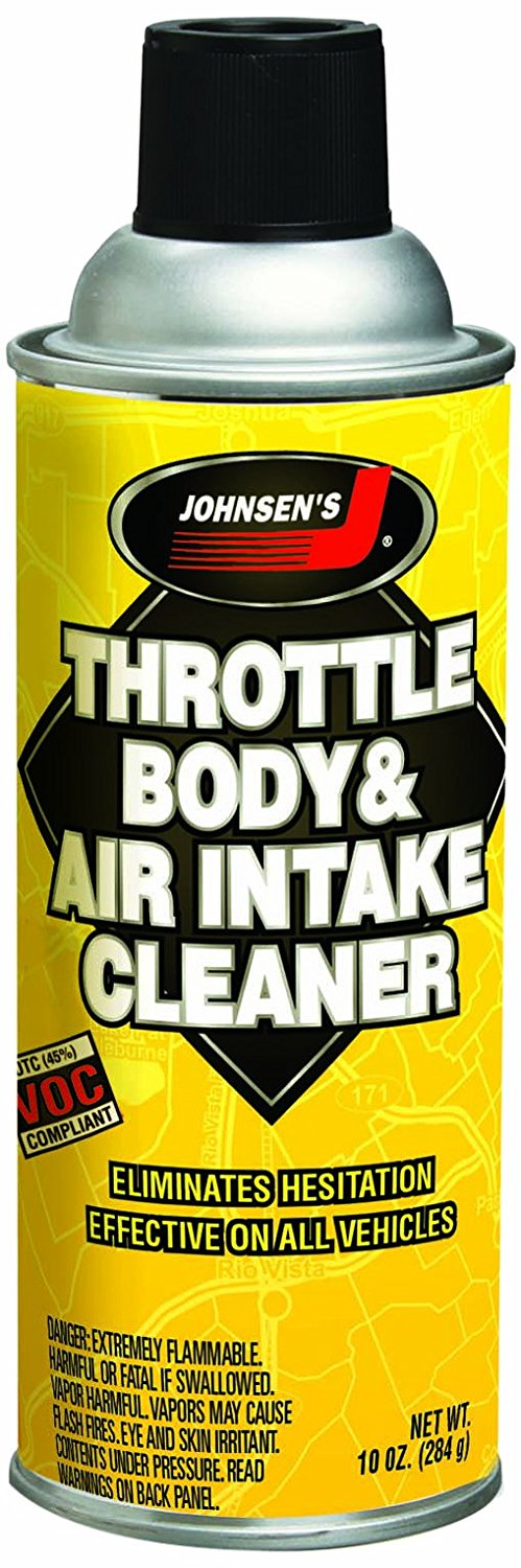 Johnsen's 4724-12PK Throttle Body and Air Intake Cleaner - 10 oz., (Pack of 12)