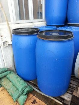 Used 225l Food Grade Plastic Barrels - Buy Food Grade ...
