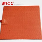 MICC 100*100mm 12V Silicone Rubber Heater for 3D Printer Heated Beds