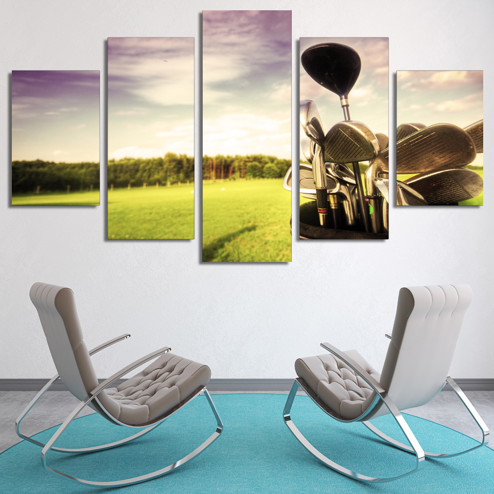 Office Pictures For Walls Golf
