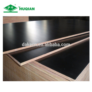 1220*2440mm 18/15/12/9MM WBP Black Film Faced Plywood for construction