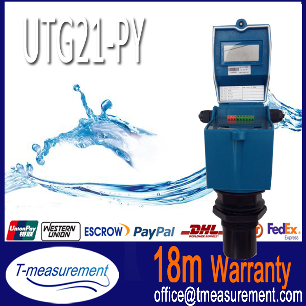 UTG21-PY 4-20ma ultrasonic sulphuric acid level indicator measuring thermal conductivity