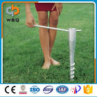 Self drill Ground Screw Anchor for beach umbrella