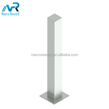 Hot Sale Cheap Parking Stainless Steel Spring Fold Down Bollard