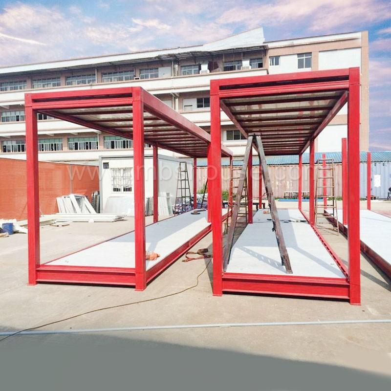 Pr fabriqu e garage container abri conteneur de stockage for Container garage voiture