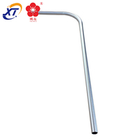 broom and dustpan handle carved aluminum profile lightweight pipe