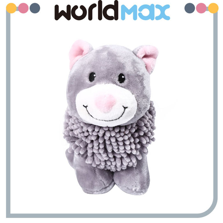 Various Styles Promotional Smiling Animal Lovely Baby Stuffed Toy