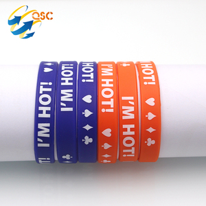 Personalisable Friendship Smart Custom Silicone Bangles Bracelet