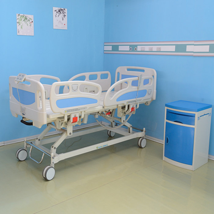 CE certificate five function electric medical patient bed hill room beds
