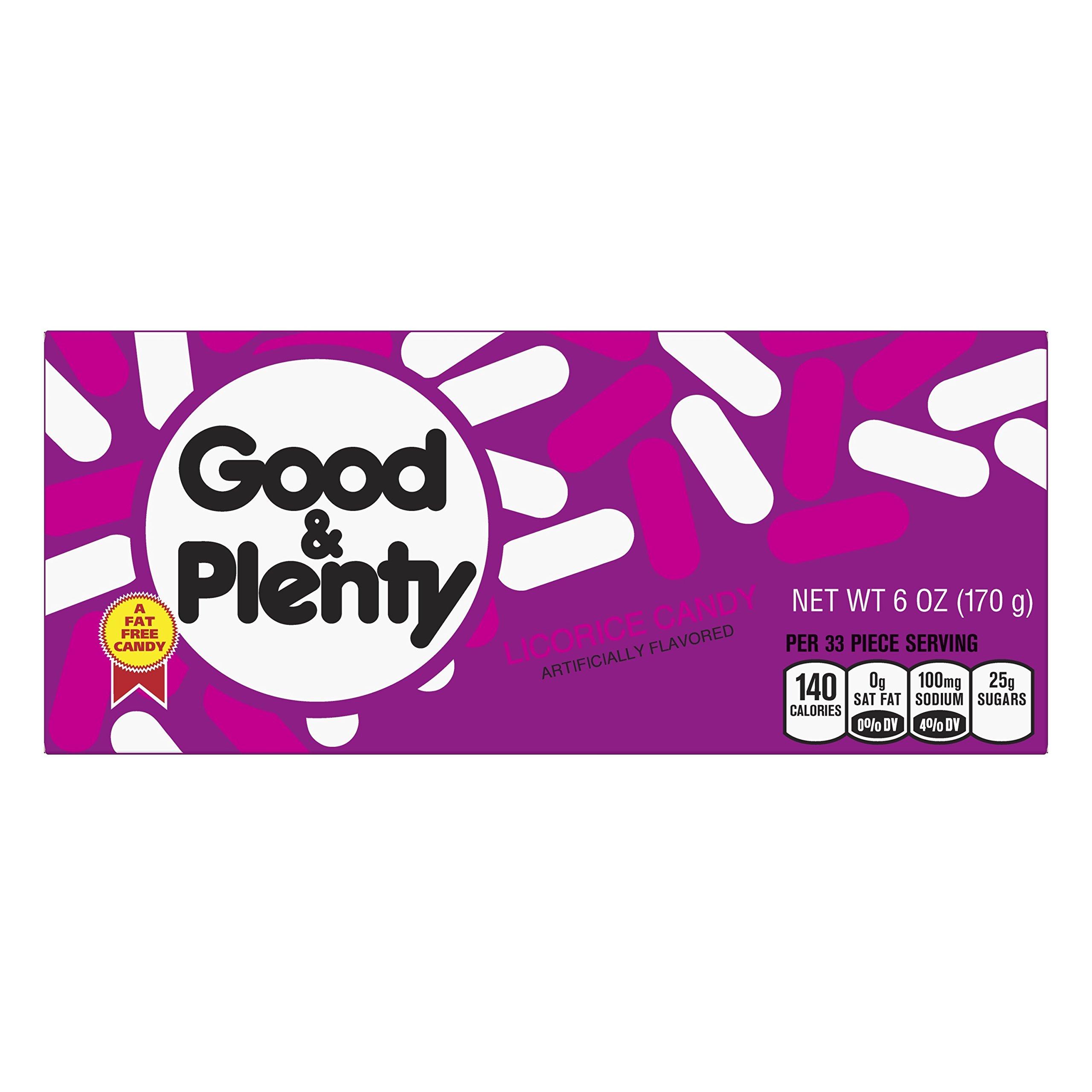 GOOD & PLENTY Licorice Candy, 6 Ounce Box