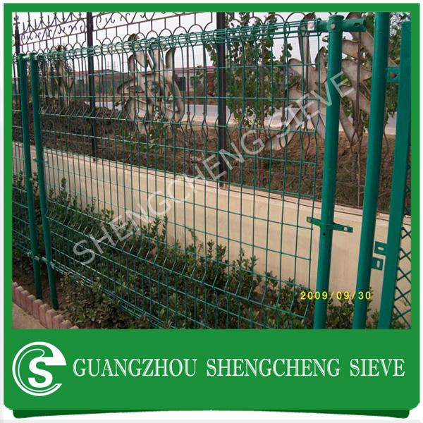 Ornamental Double Loop Wire Fence Ornamental Double Loop Wire Fence