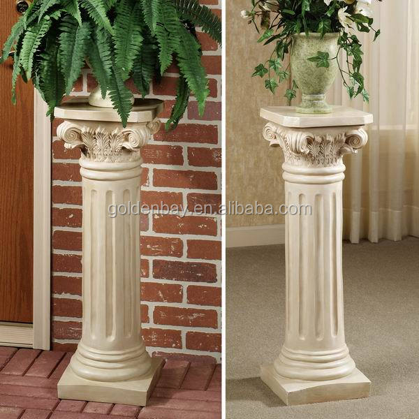 Wonderful Classic Roman Garden Pedestal