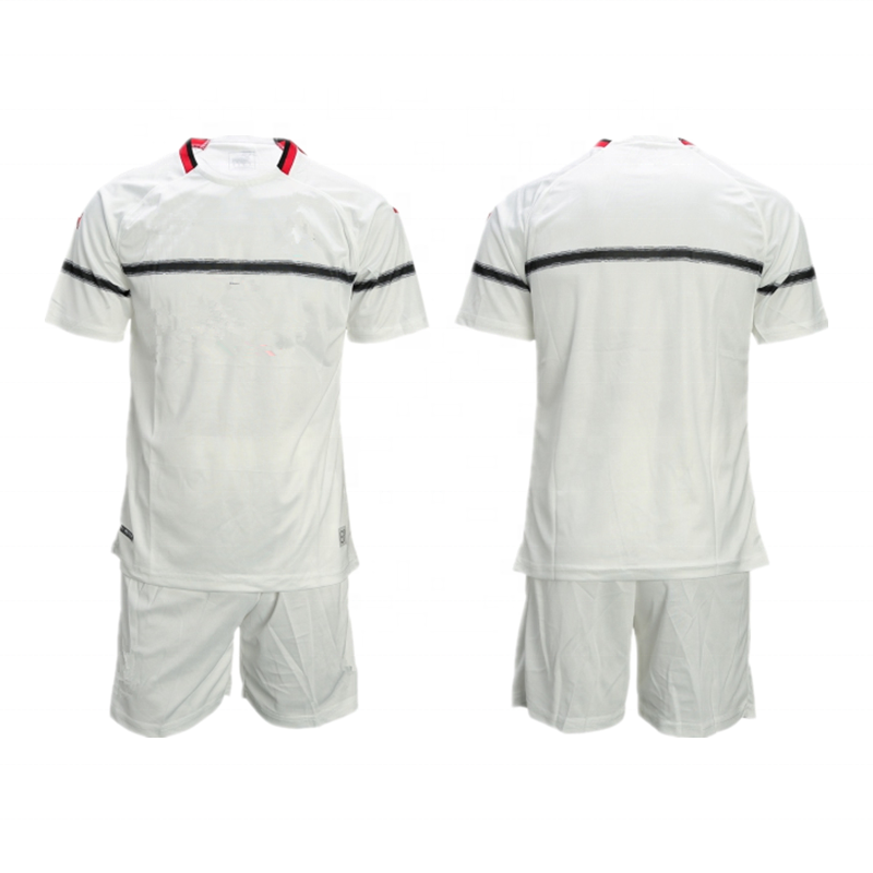 Factory Wholesale Cheap Price High Quality Football Uniform Set Summer Soccer Tracksuit For Team, Any color is available