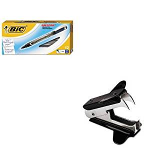 KITBICFPIN11BEUNV00700 - Value Kit - BIC Intensity Permanent Pen (BICFPIN11BE) and Universal Jaw Style Staple Remover (UNV00700)