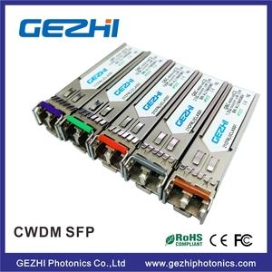 Compatible Alcatel 1 25G CWDM SFP 60km 1590nm Module SFP-GIG-59CWD60