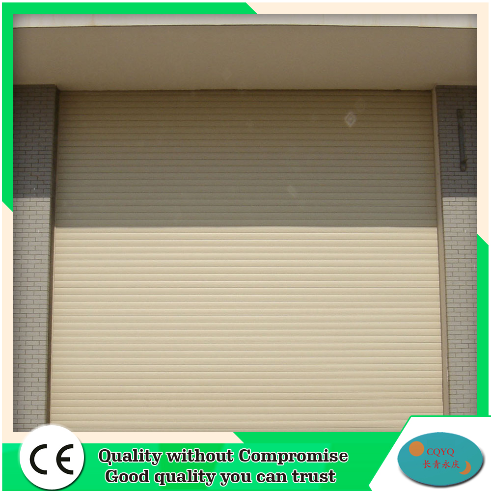 Auto Customized Galvanized Steel Industrial Rolling Shutter Garage Door