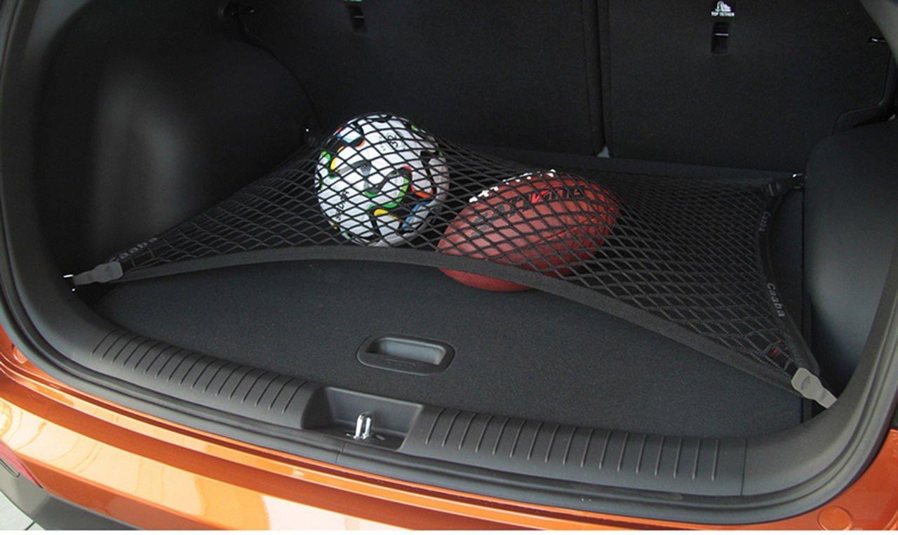 Worth-Mats Black Mesh Floor Trunk Cargo Net SUV Storage Organizer Net for Mercedes G Class G350 G500 G55 G63 G65