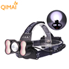 2*18650 Battery 4 Modes USB Rechargeable High Power Long Range LED Head Light Mining Headlamp