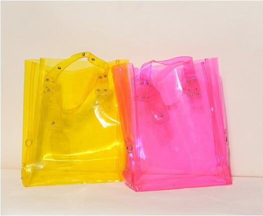Gift Bag Clear Shopping Bag Custom Pvc Plastic Shopping ...