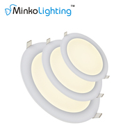 Ultra Thin 18w Led Round Ceiling Panel Light