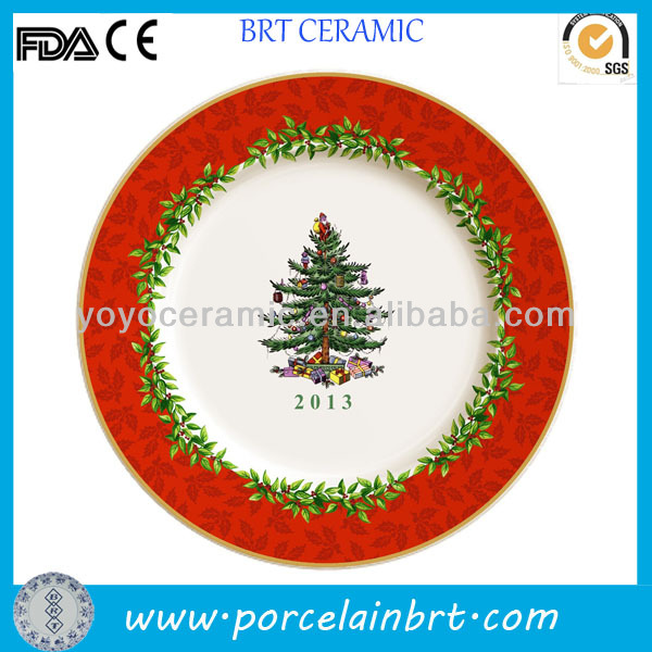 Ceramic Christmas Tree Printing Plate