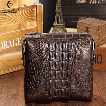 2018 Fashion Designer Crocodile Skin wowen Leather Wallet For wholesale
