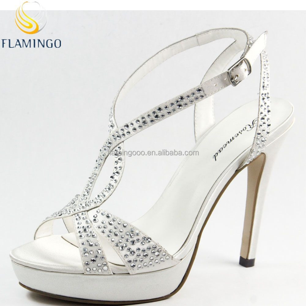 Flamingo 2015 Latest Odm/ Oem Fashion Ladies Sandal High Heel ...