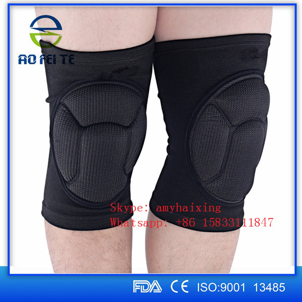 Knee Pad Crashproof Antislip Basketball Leg Long Sleeve Protector Gear