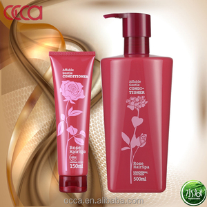 OCCA factory hot selling150ml/ 500ml Rose Affable Gentle Shampoo