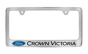 Ford Genuine License Frame Factory Custom Accessory For CROWN VICTORIA