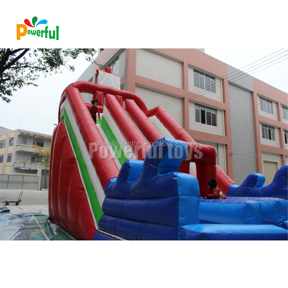 giant inflatable slide inflatable pool slide inflatable bouncer with water slide