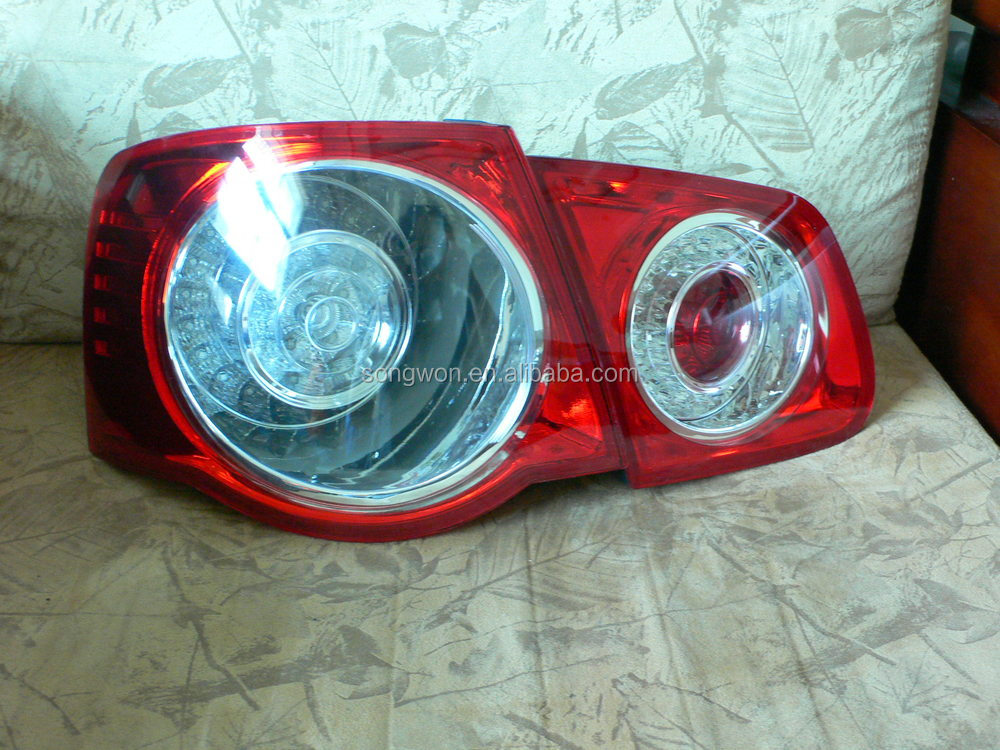 auto parts car tail lamp/tail light/rear lamp for vw golf 5