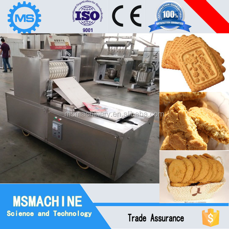 Used biscuit making machine with oven