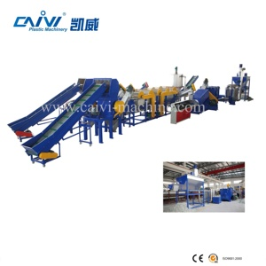 plastic LDPE film recycling machine recycle washing line