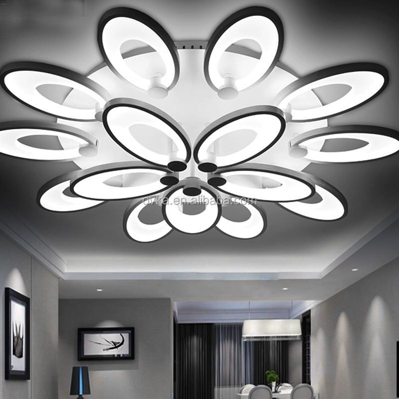 venta caliente cambio de color regulable creativa moderna lmpara de techo lmparas de techo