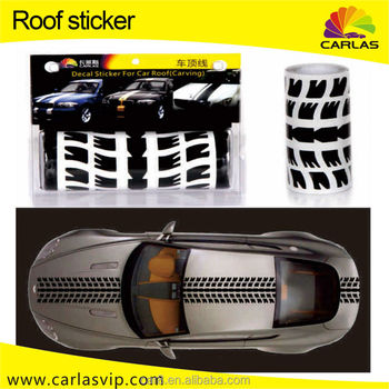 China Wholesale Racing Stripes Rally Car Vinyl Decal Stickers - Decal sticker for car