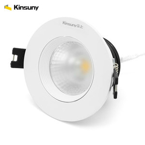 Hot sale fixtures dimmable cob spotlight downlight adjustable recessed led spotlight