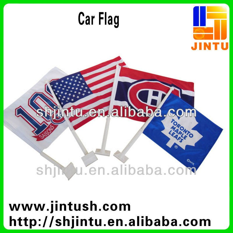 Durable Flying Wind Resistance Puerto Rico Flagge Motorhaube Abdeckung