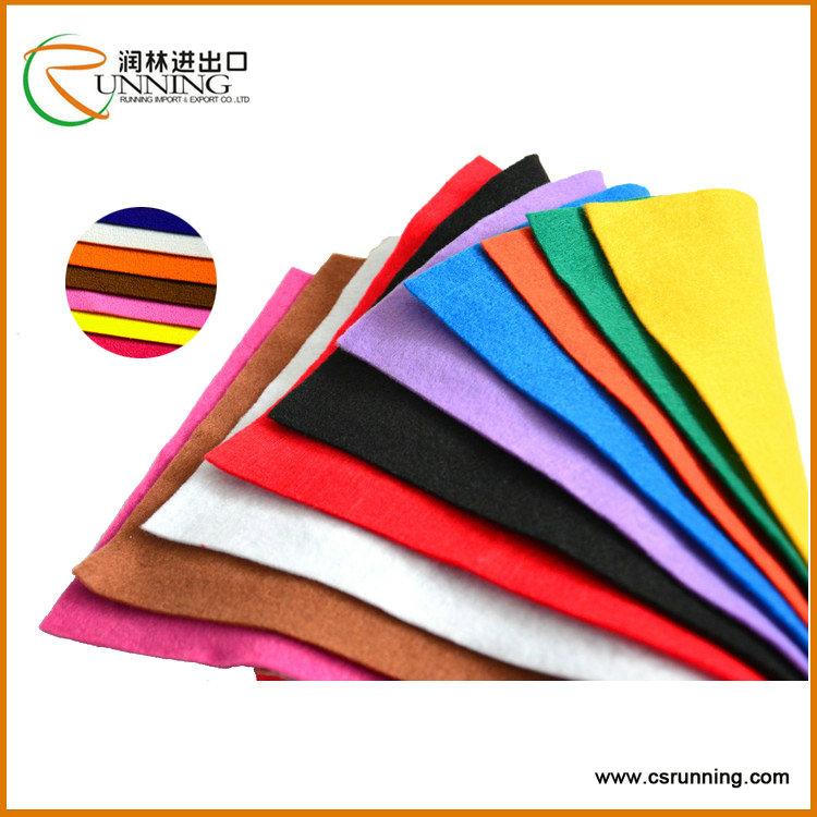 wholesale felt 100% cotton non woven fabric