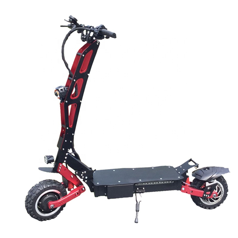 Hot Sale Electric Scooter 3200W Dual Motors Off Road Fat Tire Foldable Adult Scooter with Seat